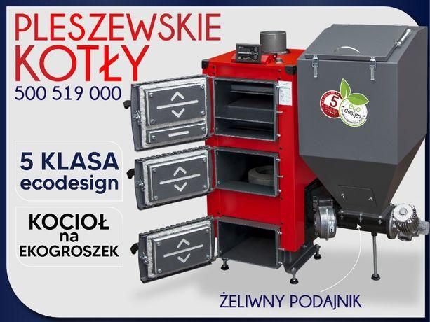 Kotły C.O. piec moc 12 - 16kW Feniks 5 klasa Palnik ŻELIWNY