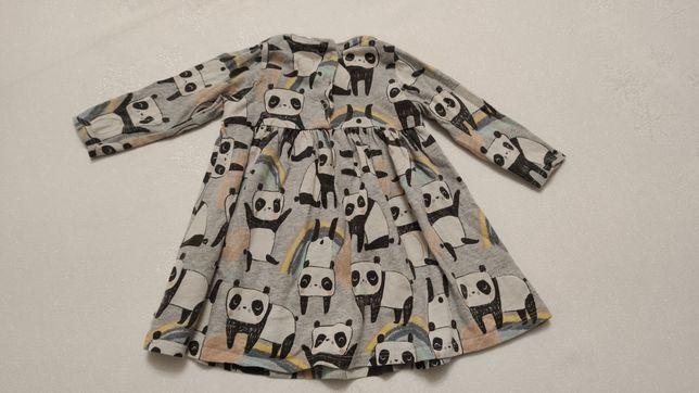 Sukienka Next panda