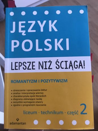 Język polski streszczenia i opracowania lektur romantyzm i pozytywizm