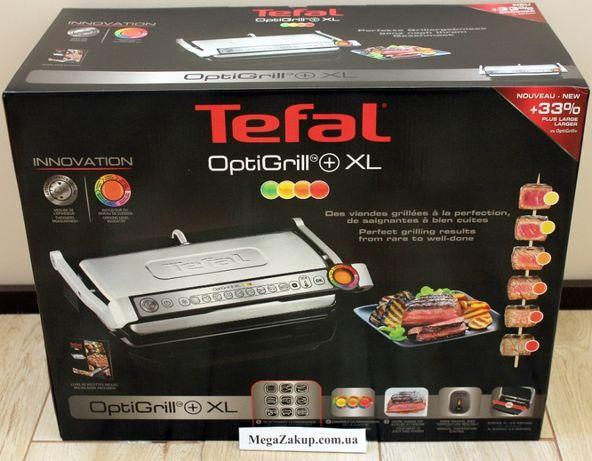 Гриль Tefal GC722D34 Optigrill+ XL Новий! в наличии! гарантия