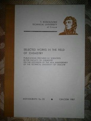 Selected works in the field of chemistry (Politechnika Krakowska)