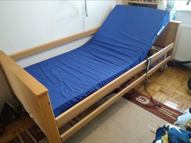 łóżko rehabilitacyjne elektryczne z materacem
