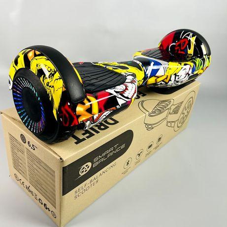 Гироборд 6.5д Hoverbot (Ховербот) гироскутер Цвет Хип-Хоп