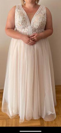 Suknia ślubna. Zapraszam. Kolor iviory