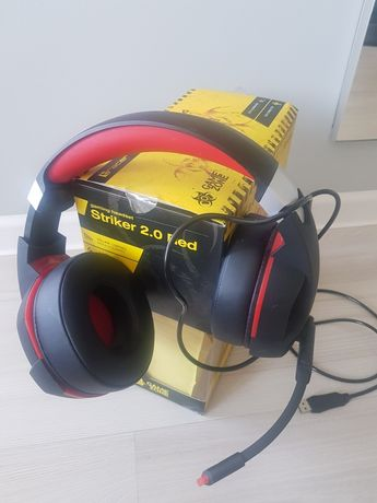 Słuchawki Tracer Striker 2.0 Red