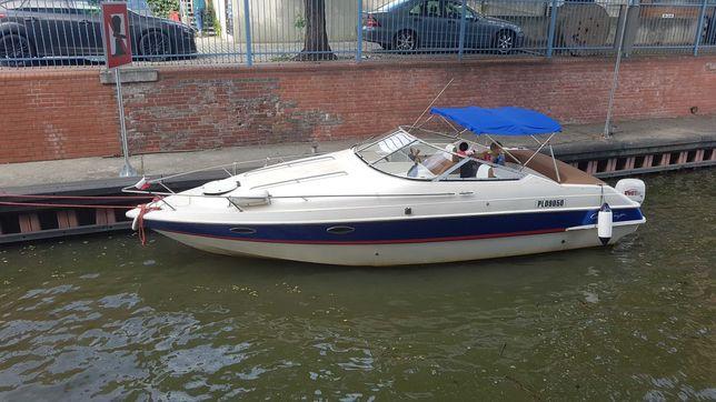 rekreacyjny jacht motorowy łódź kabinowa spacerowa Chris Craft