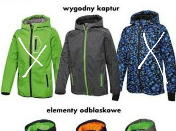Nowa Wielozadaniowa kurtka bluza softshell Crivit /116 dziecięca