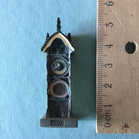 Miniatura representando o Relógio de Praga