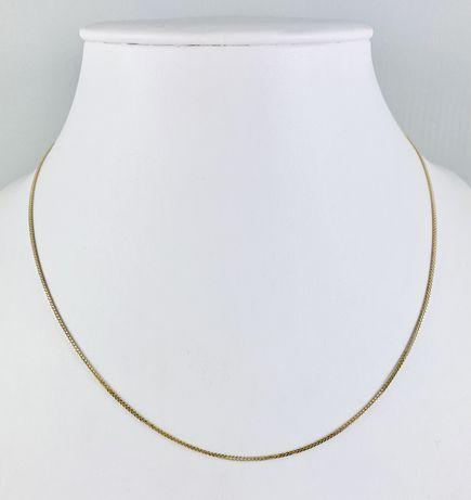 Złoty Damski Łańcuszek Diamentowany Pr.585 NOWY!