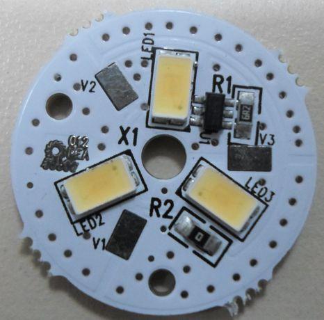 PLACA DE LED circular com 25 mm, 12V DC - PROMOÇÂO