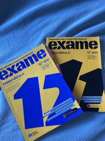 Livro preparação para o exame de Matemática A