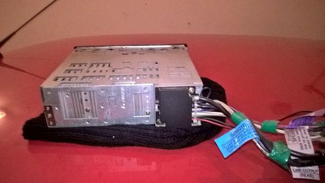 Radiomagnetofon JVC.