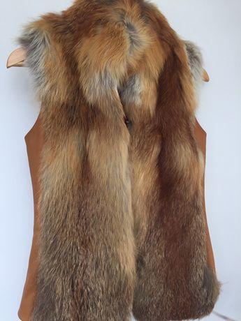 Безрукавка з лисички