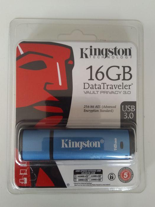 Pendrive Kingston 16 GB Szyfrowanie Gliwice - image 1