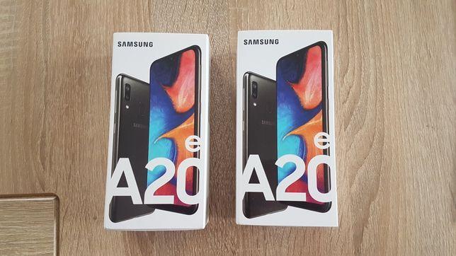 Samsung Galaxy A20e czarny nowy gwarancja