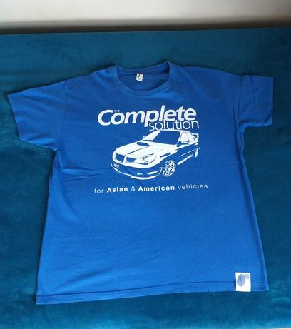 Koszulka t shirt subaru impreza Blue Print rozmiar XL