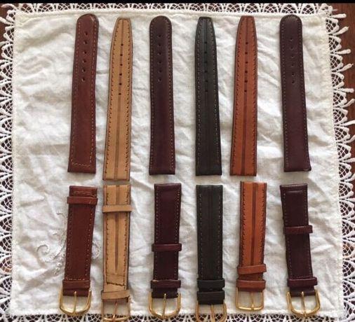 Шкіряні /кожаные ремінці до наручного годинника