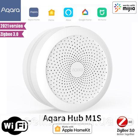 ⫸Шлюз Xiaomi Aqara Hub M1S Gateway Apple HomeKit ZigBee 3.0 ZHWG15LM