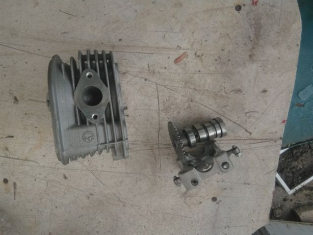 розбор мотора КИВЕЙ 125