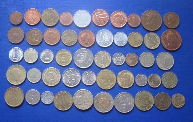 Монеты мира. Деньги.