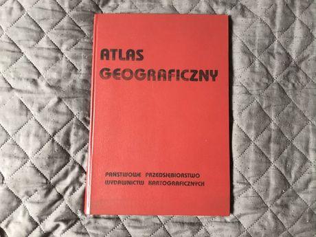 historyczny antyk Atlas Geograficzny 1990
