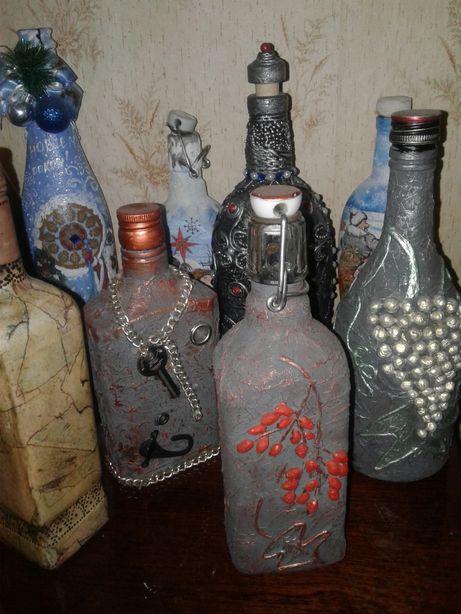 Бутылка винтажная