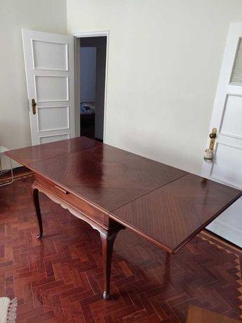 Mesa sala, 5 cadeiras e 1 cadeirão