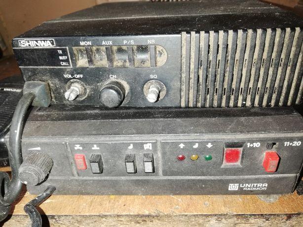 Radio sibi plus antena.