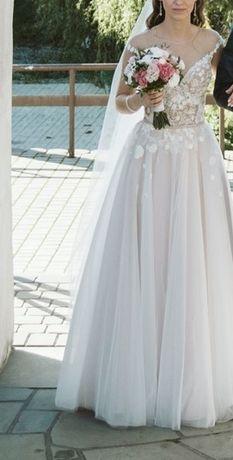 Piękna suknia ślubna kolekcja 2019