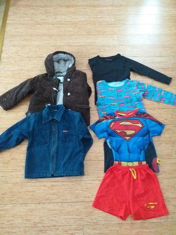 Kurtka, koszula, bluzką dla 3-latka