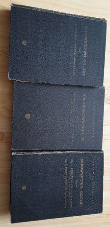 Książki Budownictwo ogólne 3 tomy