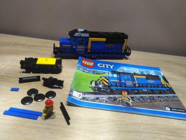 Lego city 60052 Pociąg towarowy lokomotywa