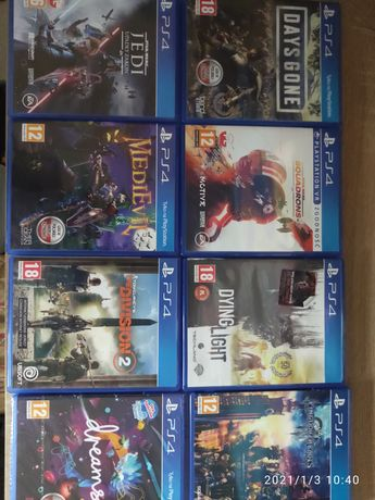 Gry na PS4 - Zamienię