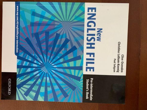 Учебник по английскому English File с диском