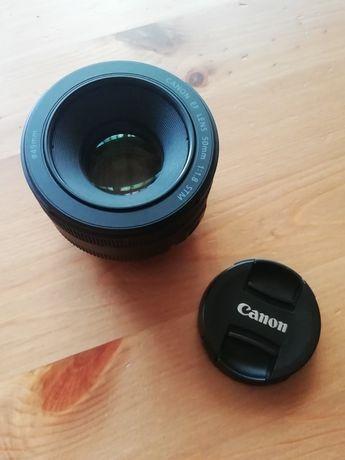 Lente Canon 50 mm f/1.8 STM