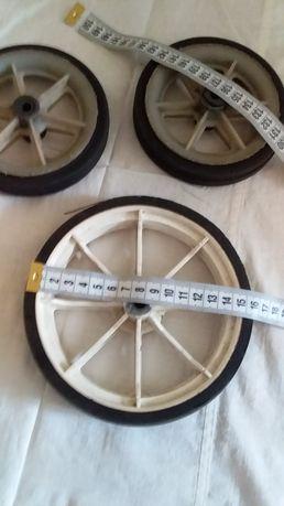 Новое колесо диаметр 16(15.5)см для тележки тачки коляски Мальвина