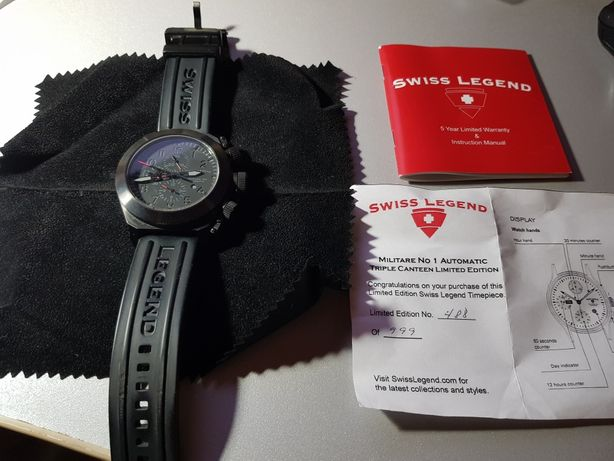 Продам часы марки Swiss Legend Militare NO 1
