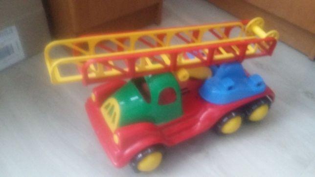 zabawka samochód straż