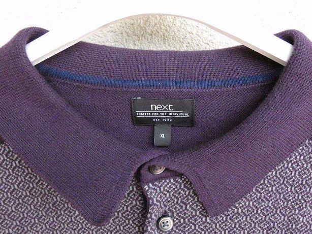 Koszula, bluza męska, XL, dzianinowa