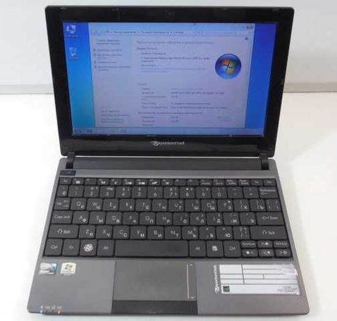 Быстрый нетбук Packard Bell ZE7 (4 гига, ssd 160 gb).