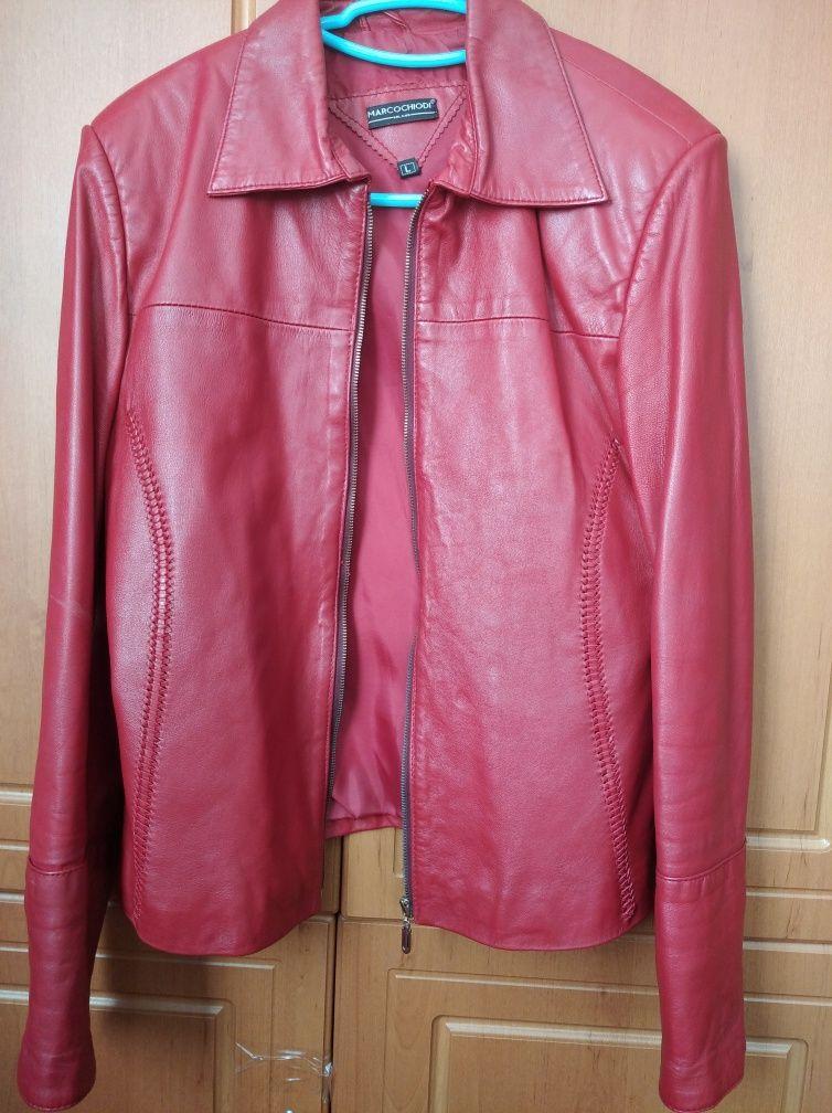 Шкіряна куртка віртовка кожаная куртка