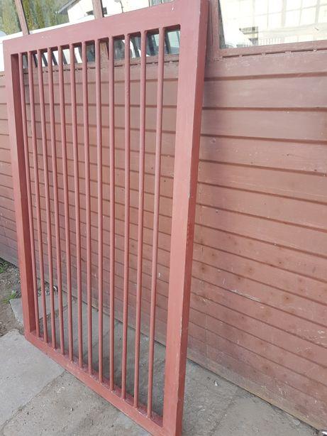 Brama 6m Dwuskrzydłowa Rozwierna Furtka Bardzo Solidna