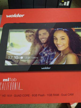 Tablet mitab ecrã partido