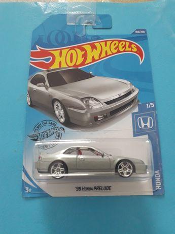Hot Wheels Honda Prelude Long Card