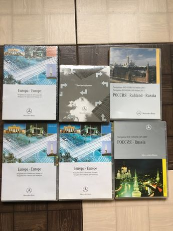 Навигация MercedesBenz, Европа, Россия, CD Audio