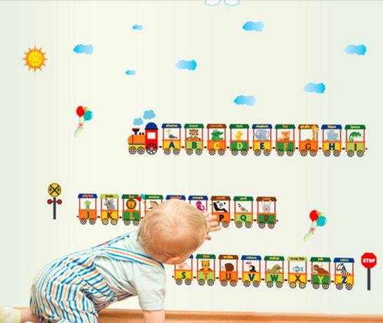 Naklejka na ścianę do pokoju dziecięcego angielsku nietrafiony prezent