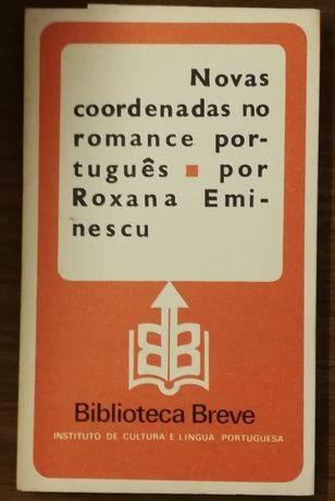 novas coordenadas no romance português, roxana eminescu