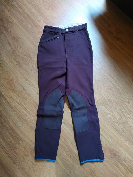 Bryczesy spodnie jeździeckie damskie rozmiar 36 euroriding