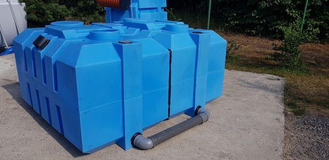 Zbiornik Plastikowy 4400L Deszczówkę 3000L - 4000L Szambo Ekologiczne