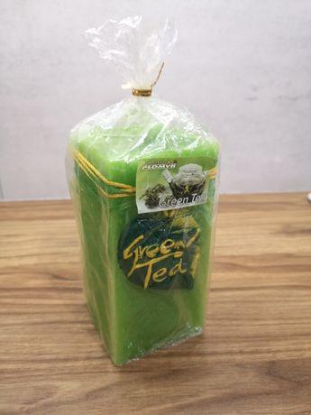 Świeczka o zapachu zielonej herbaty